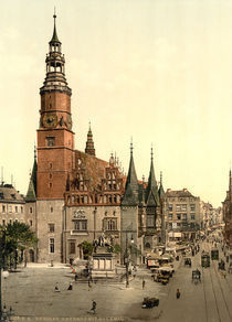 Breslau, Rathaus / Photochrom by AKG  Images