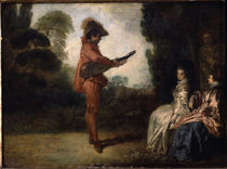 Watteau, L'Enchanteur by AKG  Images