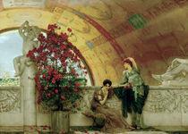 L.Alma Tadema, Unbewusste Rivalinnen by AKG  Images
