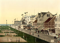 Norderney,Kaiserstrasse,Strandpromenade by AKG  Images