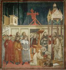 Giotto, Weihnachtsfeier von Greccio von AKG  Images
