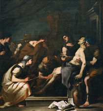 Luca Giordano, Der sterbende Seneca von AKG  Images