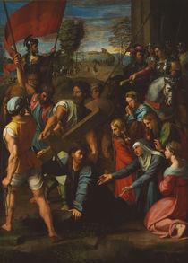 Raffael, Kreuztragung Christi von AKG  Images