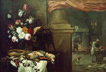 Teniers u.a., Vor der Kueche by AKG  Images