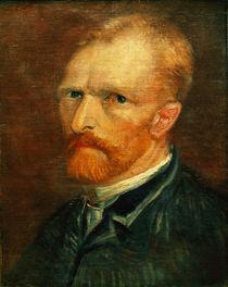 van Gogh, Selbstbildnis, um 1884/85 by AKG  Images