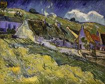 V.v.Gogh, Strohgedeckte Haeuser by AKG  Images