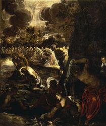 Tintoretto, Taufe Christi von AKG  Images