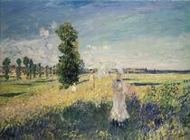Monet, La promenade by AKG  Images