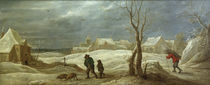 David Teniers d.J., Winterlandschaft by AKG  Images