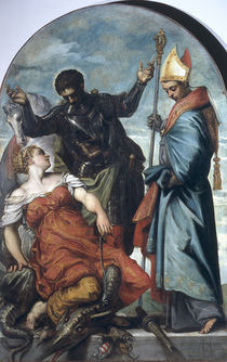 Tintoretto, Ludwig v.Toulouse u.Georg von AKG  Images