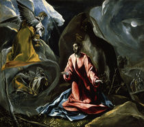 El Greco, Christus am Oelberg von AKG  Images
