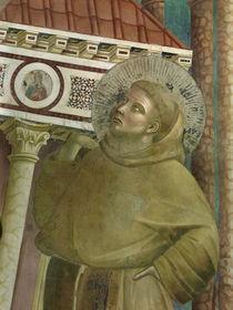 Giotto, Franz stuetzt Lateranskirche von AKG  Images