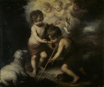 B.E.Murillo, Jesus  und Johannesknabe von AKG  Images