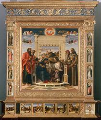 Giov.Bellini, Kroenung Mariae von AKG  Images