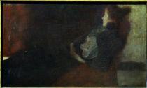 Gustav Klimt, Dame am Kamin by AKG  Images