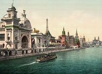 Paris, Weltausst.1900, rue des Nations von AKG  Images