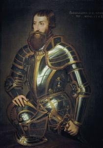 Ferdinand I. im Harnisch / n. Tizian by AKG  Images