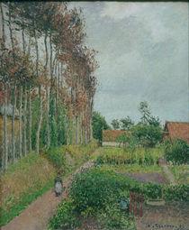 C.Pissarro, Gehoeft der Auberge Ango von AKG  Images