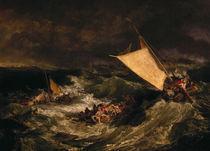 W. Turner, Schiffbruch/ um 1800 von AKG  Images