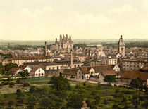 Speyer, Stadtansicht / Photochrom by AKG  Images