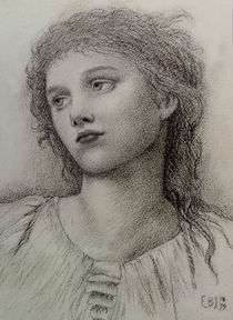 E.Burne Jones, Studienkopf von AKG  Images
