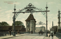 Koenigsberg, Kaiserbruecke / Photochrom by AKG  Images