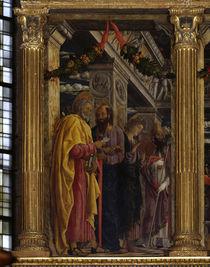 Mantegna, Petrus, Paulus, Johannes, Zeno von AKG  Images