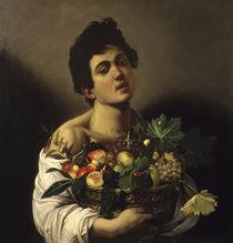 Caravaggio, Junge mit Fruechtekorb by AKG  Images