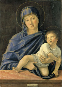 Giovanni Bellini, Maria mit Kind /Bergam von AKG  Images