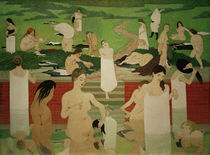 F.Vallotton, Das Bad am Sommerabend by AKG  Images