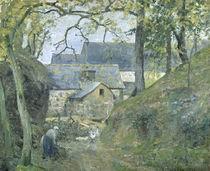 Pissarro/ Ferme a Montfoucault/ 1874 by AKG  Images