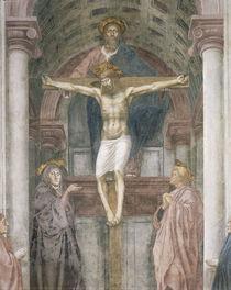 Masaccio. SS. Trinita, Ausschnitt von AKG  Images