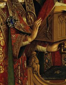 Pult / Jan v.Eyck, Genter Altar (Detail) von AKG  Images