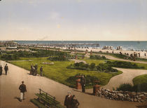Yarmouth, Strandpromenade / Photochrom by AKG  Images