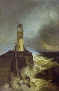 W.Leistikow, Mole mit Leuchtturm von AKG  Images