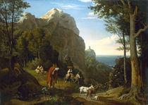 L.Richter, Tal bei Amalfi mit Aussicht by AKG  Images