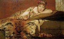 L.Alma Tadema, Kirschen von AKG  Images