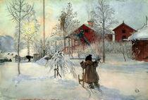 C.Larsson,Das Bauernhaus u.das Waschhaus by AKG  Images