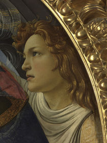 Botticelli, Madonna Magnificat, Engel by AKG  Images