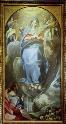 El Greco, Maria Immaculata by AKG  Images