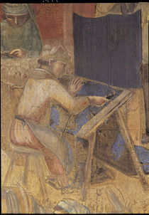 A.Lorenzetti, Buon governo, Tuchmacher von AKG  Images