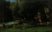 G.Courbet, Landschaft bei Ornans by AKG  Images