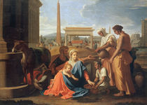 N.Poussin, Hl.Familie in Aegypten by AKG  Images
