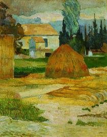 P.Gauguin, Bauernhaus in Arles by AKG  Images