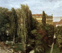 Menzel,A./Blick auf Palaisgarten/1846 von AKG  Images