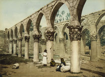 Baalbek, Moschee / Photochrom by AKG  Images