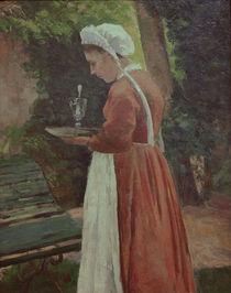 C.Pissarro, Das Dienstmaedchen by AKG  Images