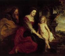 P.P.Rubens, Madonna mit Papagei von AKG  Images