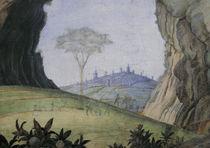 Mantegna, Cam.d.Sposi, Landschaft by AKG  Images