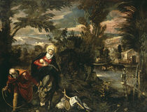 Tintoretto, Flucht nach Aegypten by AKG  Images